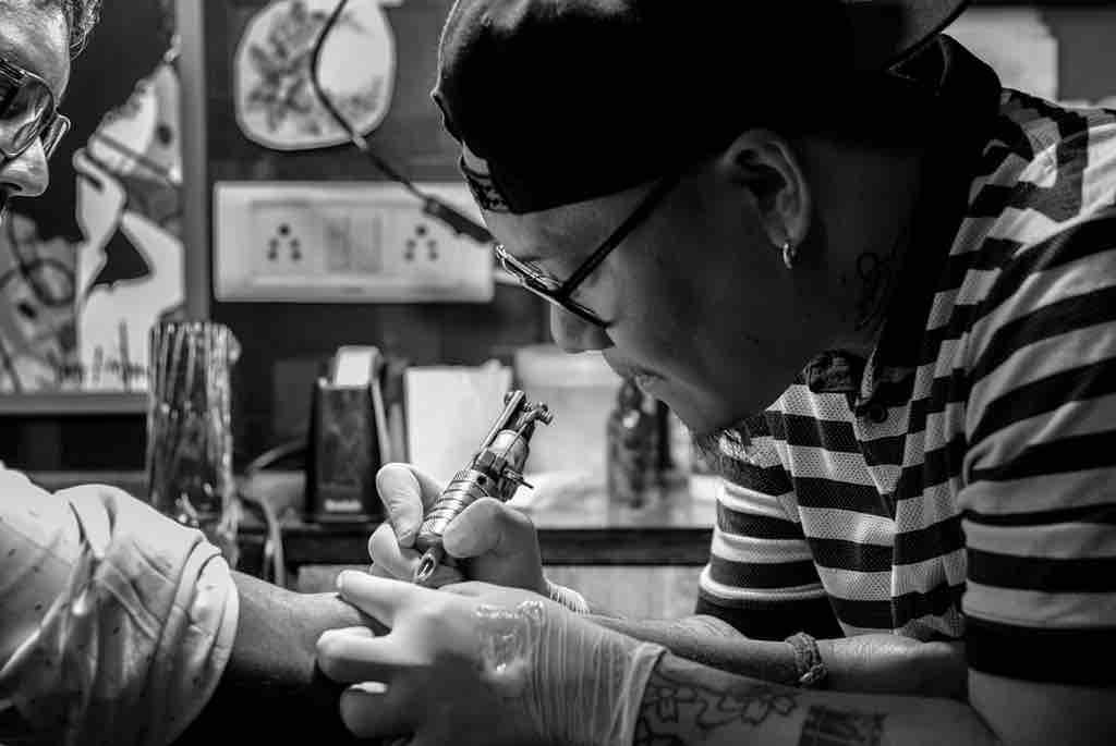 Autoclave tattoo